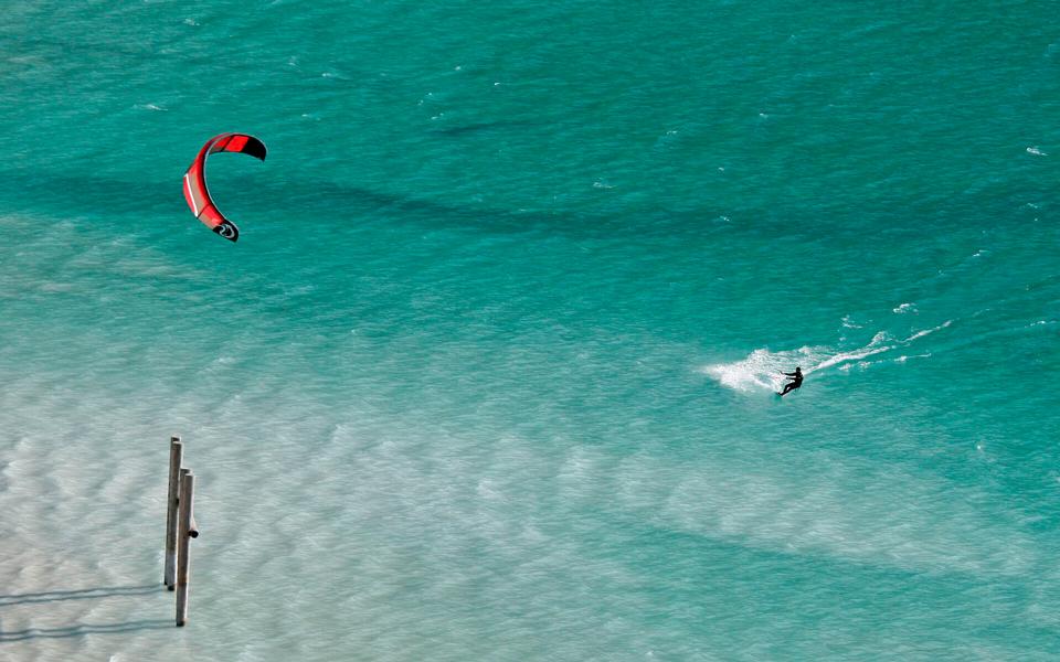 Kitesurfer am Achensee