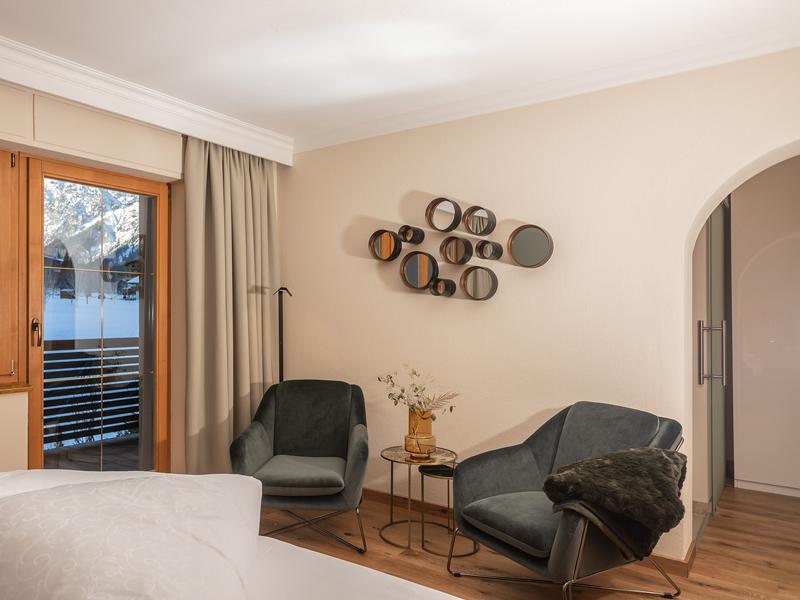 Sitzbereich Komfortzimmer
