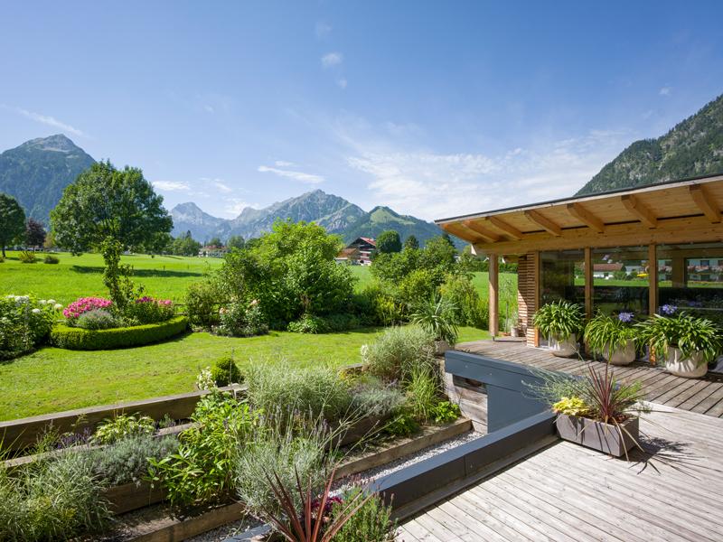 Unser Garten im Berghof