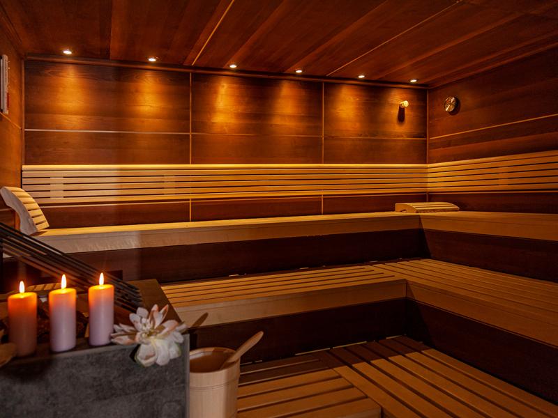 Saunabereich im Berghof